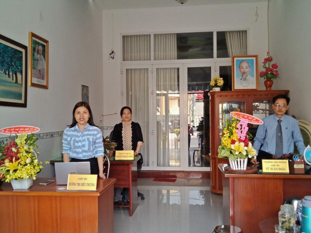 Văn phòng luật Phú An Nhân